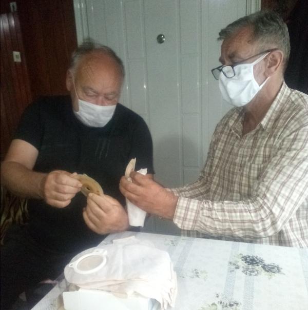 Dragan Trivun predsednik udruzenja ,obucava nove clanove
